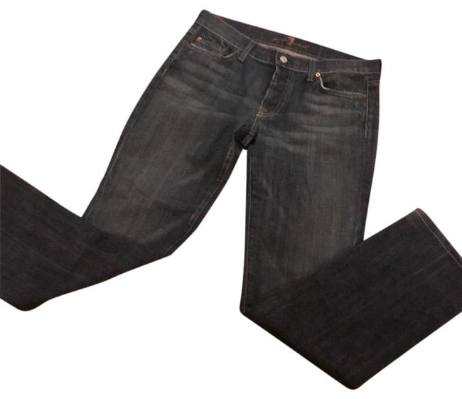 Preload https://img-static.tradesy.com/item/24097623/7-for-all-mankind-blue-distressed-denim-boot-cut-jeans-size-8-m-29-30-0-1-650-650.jpg