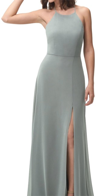 Preload https://img-static.tradesy.com/item/24097630/jenny-yoo-morning-mist-kayla-long-formal-dress-size-8-m-0-1-650-650.jpg
