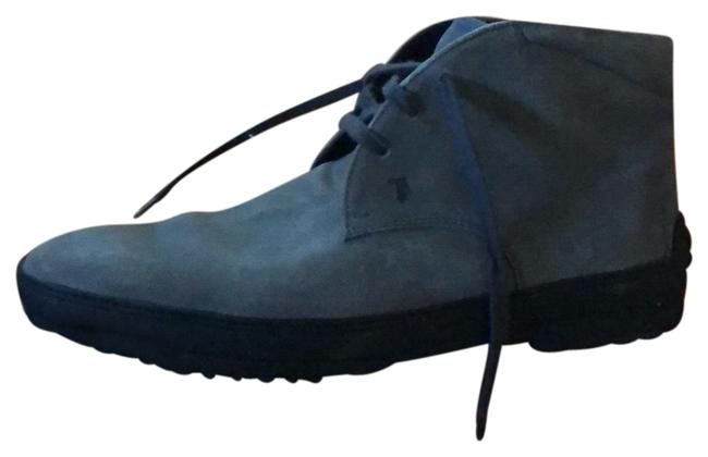 Tod's Grey Gommini Men's Low Ankle Boots/Booties Size US 9 Regular (M, B) Tod's Grey Gommini Men's Low Ankle Boots/Booties Size US 9 Regular (M, B) Image 1