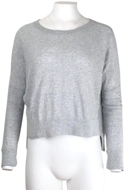 Preload https://img-static.tradesy.com/item/24097642/vince-high-low-gray-sweater-0-1-650-650.jpg