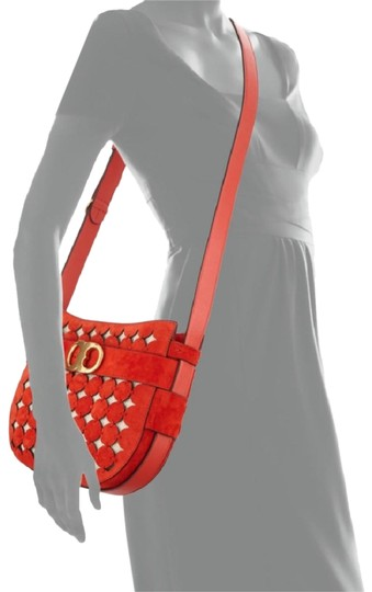 Preload https://img-static.tradesy.com/item/24097644/tory-burch-gemini-link-poppy-red-suede-leather-cross-body-bag-0-1-540-540.jpg