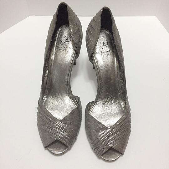 Adrianna Papell Silver Pumps