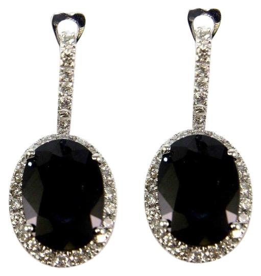 Preload https://img-static.tradesy.com/item/24097789/blue-and-silver-oval-sapphire-diamond-drop-14k-white-gold-1669ct-earrings-0-1-540-540.jpg