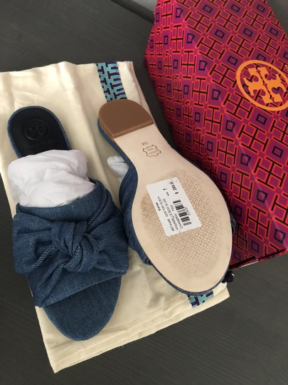 Tory Burch Denim Sandals