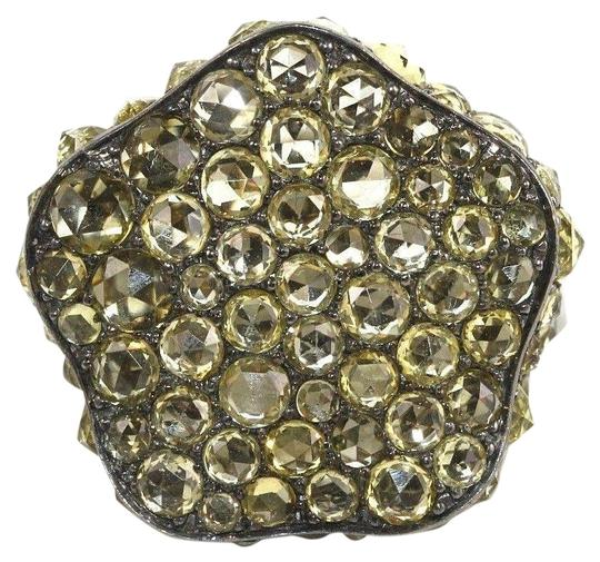 Preload https://img-static.tradesy.com/item/24097829/yellow-and-silver-black-rose-sapphire-cluster-18k-white-gold-1122ct-ring-0-1-540-540.jpg