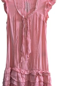 Esprit short dress Pink on Tradesy