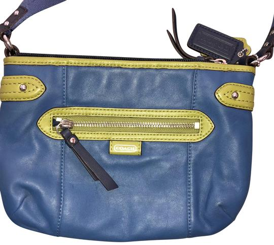 Preload https://img-static.tradesy.com/item/24097838/coach-with-olive-trim-blue-leather-cross-body-bag-0-1-540-540.jpg