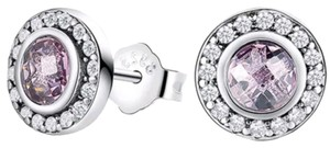 Xquisite by Desygn STERLING SILVER ROUND CUT STUDS