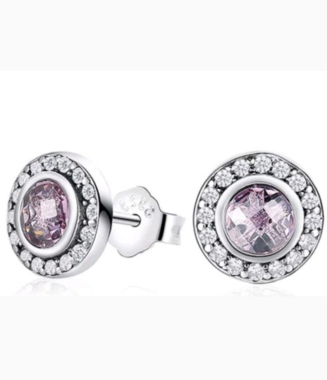 Xquisite by Desygn STERLING SILVER .925 ROUND CUT STUDS Image 3