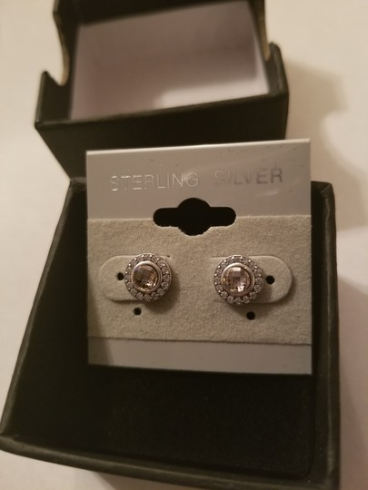 Xquisite by Desygn STERLING SILVER .925 ROUND CUT STUDS Image 9