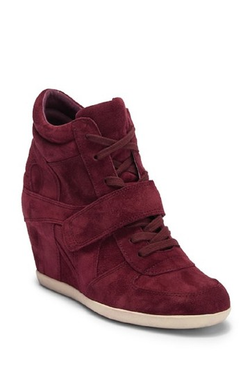 Preload https://img-static.tradesy.com/item/24097945/ash-burgundy-bowie-suede-leather-high-top-wedge-sneaker-sneakers-size-eu-39-approx-us-9-regular-m-b-0-0-540-540.jpg