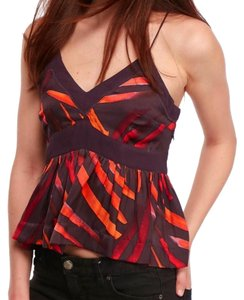 Free People Invisible Side Zip V-neck Sleeveless Partially Lined Versatile Top Multi - item med img