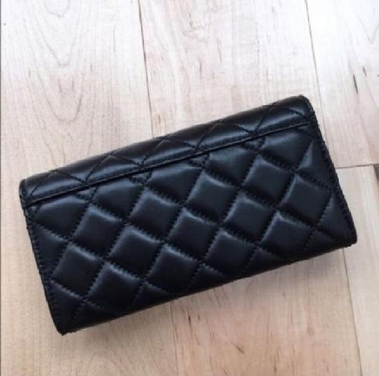 Michael Kors Astrid Quilted Soft Leather Carryall Large Wallet Clutch Rare