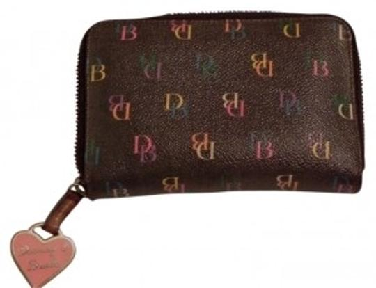 Preload https://item4.tradesy.com/images/dooney-and-bourke-brown-signature-d-b-multi-color-wallet-24098-0-0.jpg?width=440&height=440