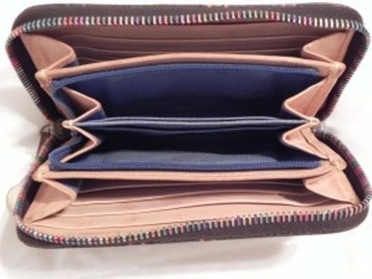 Dooney & Bourke Signature D & B Multi-Color Wallet