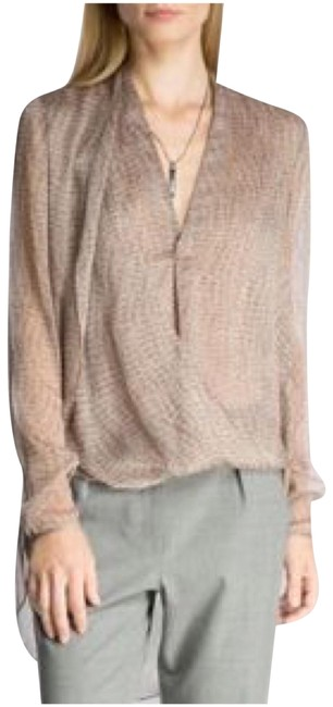 Halston Top Camel