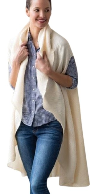 Cream Plisse' On The Scarf/Wrap Cream Plisse' On The Scarf/Wrap Image 1