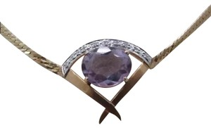 Unknown amethyst necklace