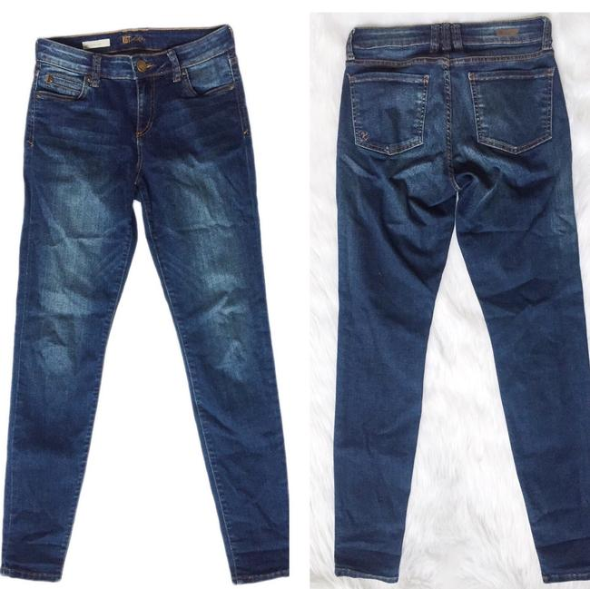 KUT from the Kloth Skinny Jeans-Medium Wash Image 3
