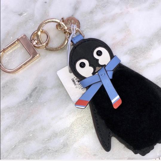 Tory Burch PETE THE PENGUIN FOB KEY CHAIN Image 1