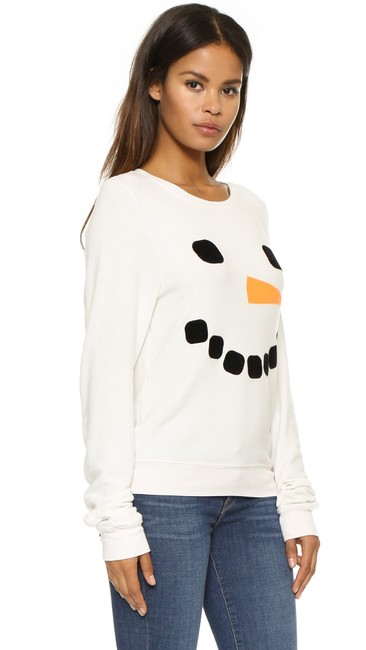 Wildfox Couture Pullover Casual Baggy Beach Jumper Sweatshirt Image 2