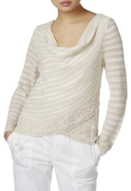 Preload https://img-static.tradesy.com/item/24098358/inc-international-concepts-beige-crochet-surplice-cowl-neck-xl-sweater-0-1-650-650.jpg