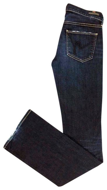 Preload https://img-static.tradesy.com/item/24098365/citizens-of-humanity-blue-dark-rinse-kelly-boot-cut-jeans-size-2-xs-26-0-1-650-650.jpg