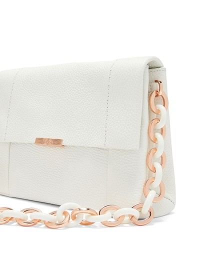 Ted Baker Acrylic Chain Metal Chain Shoulder Bag Image 1