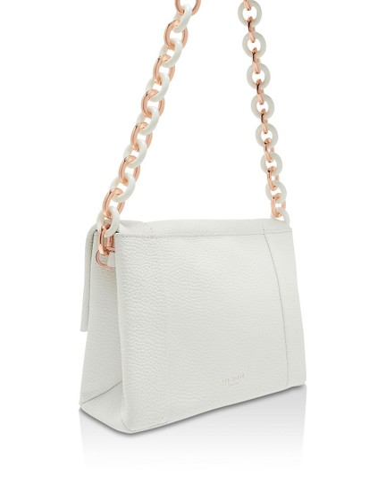 Ted Baker Acrylic Chain Metal Chain Shoulder Bag Image 3