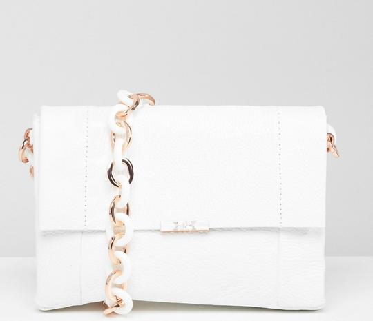 Ted Baker Acrylic Chain Metal Chain Shoulder Bag Image 5