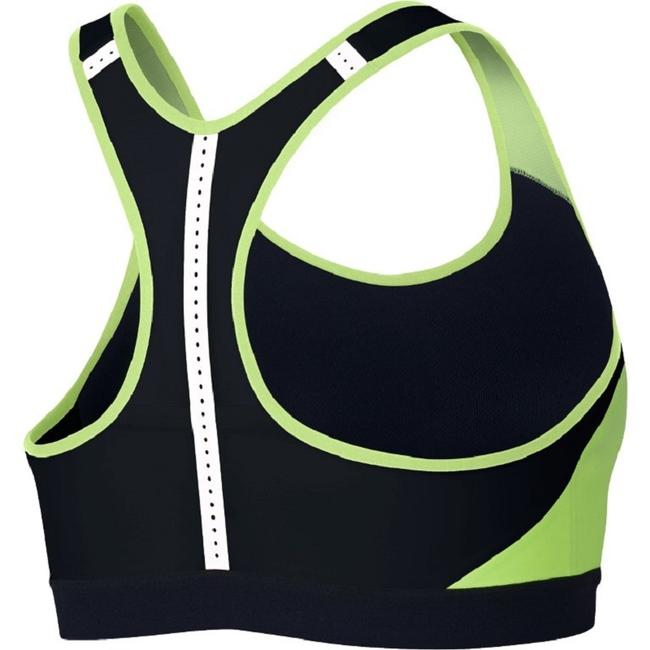 Nike NIKE Motion Adapt High-Support Compression Sports Bra LARGE Image 1