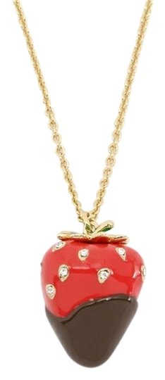 Preload https://img-static.tradesy.com/item/24098518/kate-spade-redgold-new-outside-the-box-strawberry-necklace-0-1-540-540.jpg