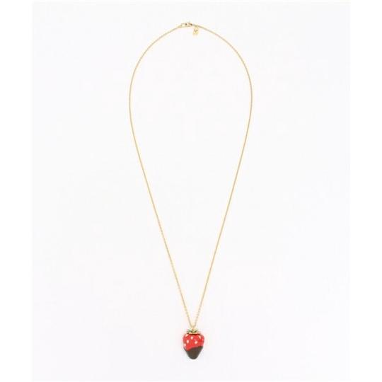Kate Spade New Kate Spade Outside the Box Strawberry Necklace Image 1
