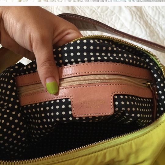 Kate Spade Tote in neon, green, yellow Image 2