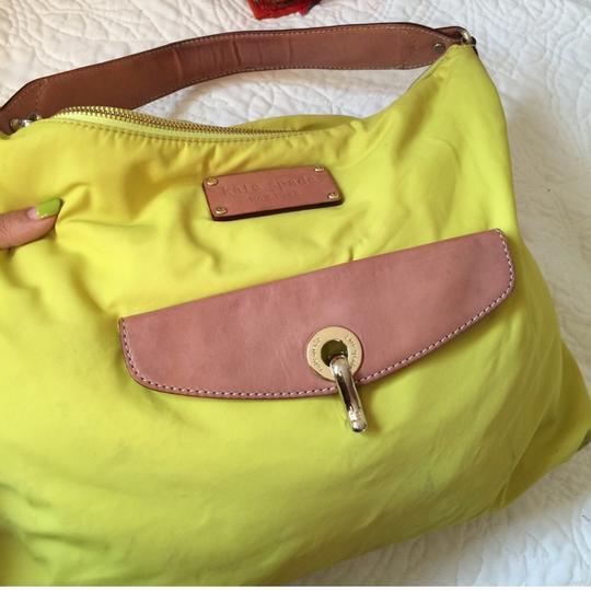 Kate Spade Tote in neon, green, yellow Image 3
