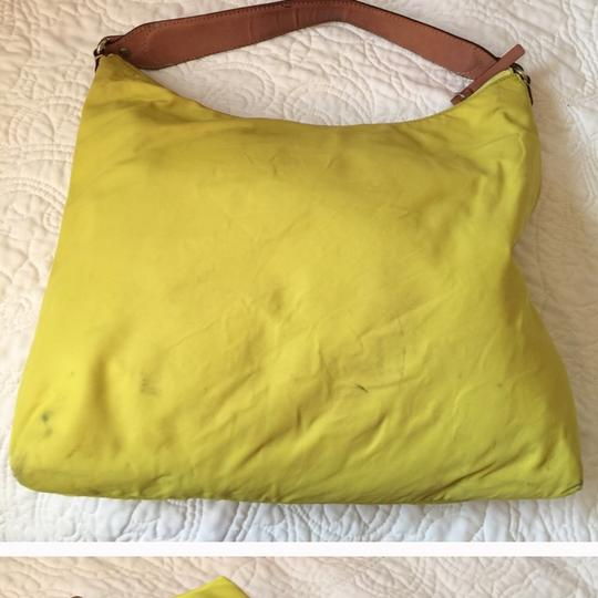 Kate Spade Tote in neon, green, yellow Image 4
