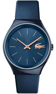 Lacoste Lacoste Women's Valencia Blue Rubber Strap Watch 2000951