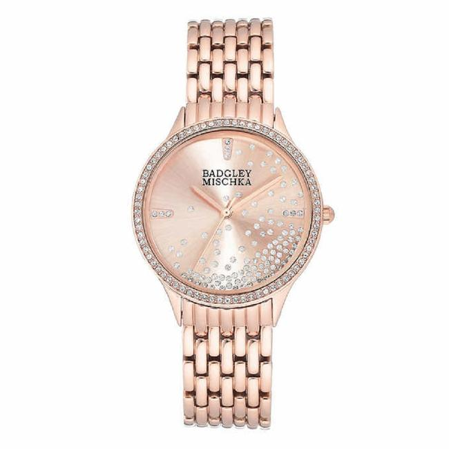 Item - Rose Gold Swarovski Crystal Watch