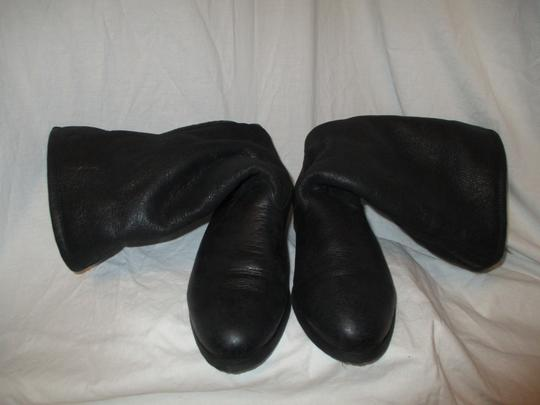 KMB Leather Shearling Winter 003 black Boots Image 7