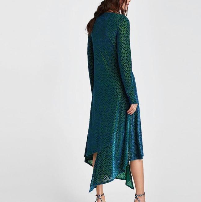 Green Maxi Dress by Zara Image 1
