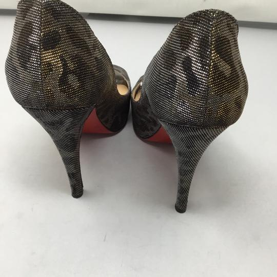 Christian Louboutin gold and silver Pumps Image 3