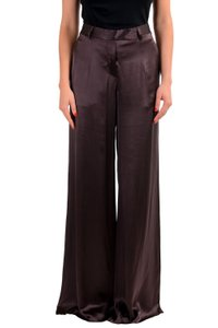 Gianfranco Ferre Wide Leg Pants Brown