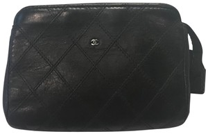 Chanel Chanel Quilted Pouch Pochette Zippy