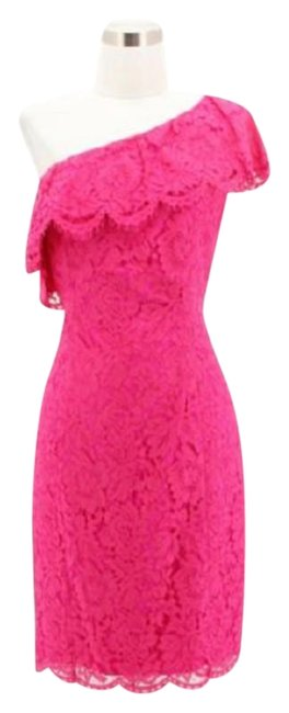 Preload https://img-static.tradesy.com/item/24099316/eliza-j-pink-a53-new-designer-lace-bodycon-short-formal-dress-size-10-m-0-1-650-650.jpg