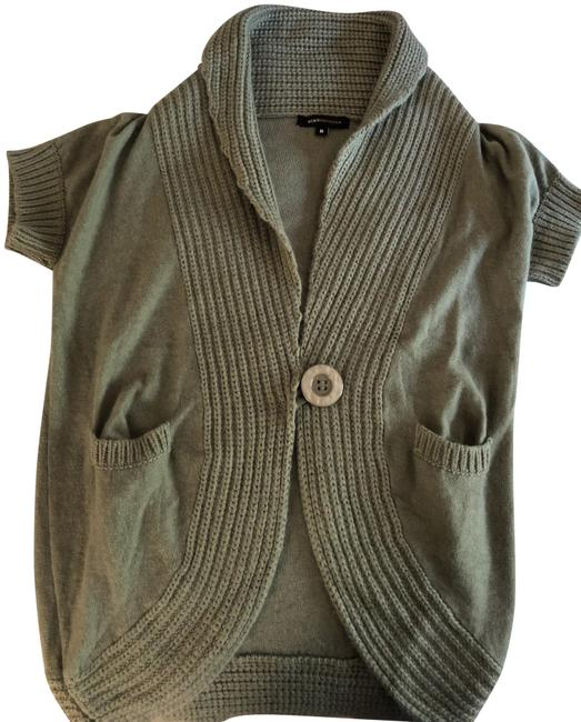 Item - Olive Green (See Pictures) Cardigan Size 8 (M)