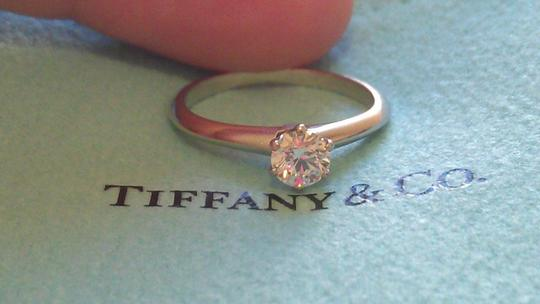 Tiffany & Co. Tiffany & Co. Platinum .38 Carat Diamond Solitaire Engagement Ring Image 1