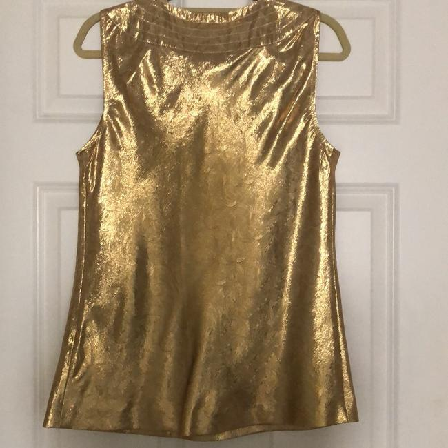 Tory Burch Top Gold Image 1
