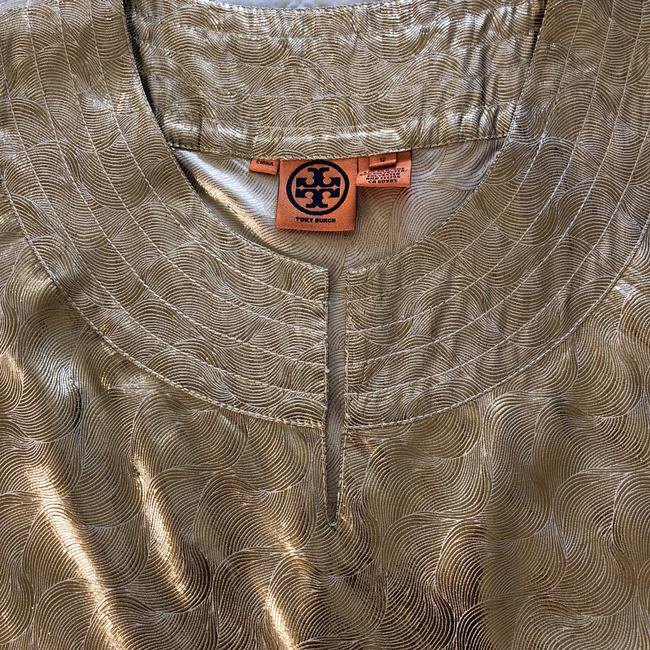 Tory Burch Top Gold Image 2