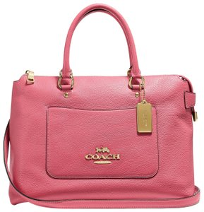 Coach New With Tags Satchel in Peony