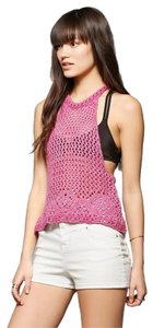 Urban Outfitters Crochet Top Pink